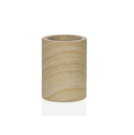 Стакан для зубных щеток Sand Stone, 7.6х10.2 см BA65093 Andrea House