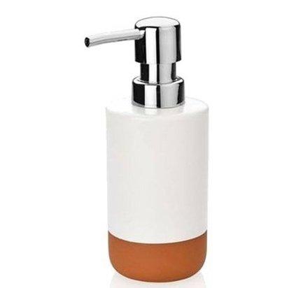 Диспенсер для жидкого мыла Ceramic, 6х17 см BA65134 Andrea House диспенсер для мыла axentia nero 131056 черный 300 мл