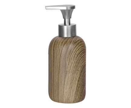 Диспенсер для жидкого мыла Wood, 7х18.5 см BA66144 Andrea House диспенсер для мыла axentia nero 131056 черный 300 мл