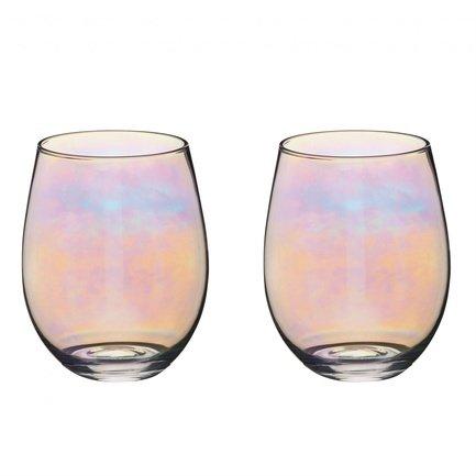 Набор стаканов BarCraft (600 мл), 2 шт. BCTUMLUST2PC Kitchen Craft набор стаканов bistro 0 3 л 2 шт син арт a11582 528 y15