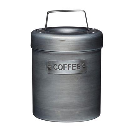 Емкость для хранения кофе Industrial Kitchen, 10.5х17 см, серая INDCOFFEE Kitchen Craft емкость для хранения чеснока с теркой innovative kitchen