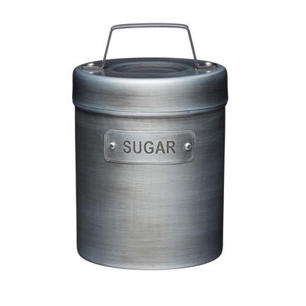 Емкость для хранения сахара Industrial Kitchen, 10.5х17 см, серая INDSUGAR Kitchen Craft емкость для хранения чеснока с теркой innovative kitchen