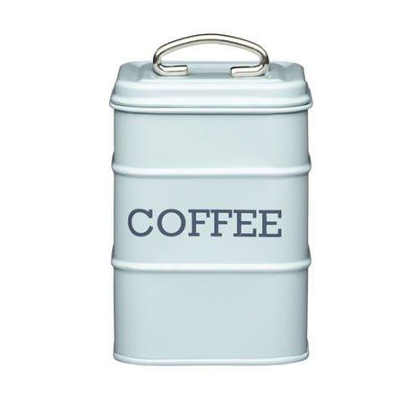 Фото - Емкость для хранения кофе Living Nostalgia, 11х11х17 см, голубой LNCOFFEEBLU Kitchen Craft емкость для хранения modern kitchen средняя золотистая