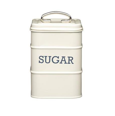 Фото - Емкость для хранения сахара, 11х11х17 см, белая LNSUGARCRE Kitchen Craft емкость для хранения чая living nostalgia 11х11х17 см зеленая lnteagrn kitchen craft
