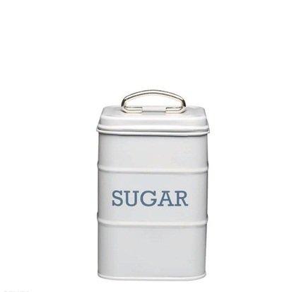 Фото - Емкость для хранения сахара, 11х11х17 см, серая LNSUGARGRY Kitchen Craft емкость для хранения чая living nostalgia 11х11х17 см зеленая lnteagrn kitchen craft