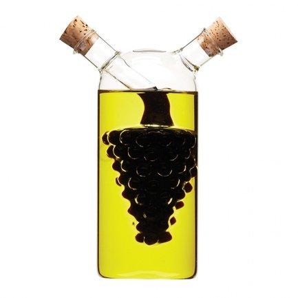 Бутылка для масла (300 мл) и уксуса (50 мл) World of Flavours WFITCRUET75 Kitchen Craft бутылка для масла и уксуса wilmax 230 мл