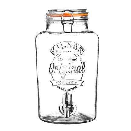 Диспенсер для напитков Clip Top (5 л), 22.5х19х31.5 см, в подарочной упаковке K_0025.873V Kilner емкость мерная plast team helsinki 1 л