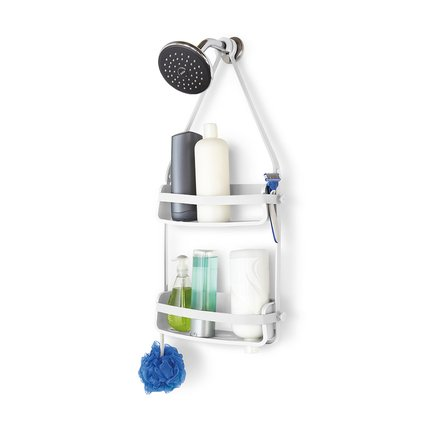 Органайзер для ванной Flex, 33.7х63.5х8.5 см, белый 023460-660 Umbra органайзер для душа flex single белый