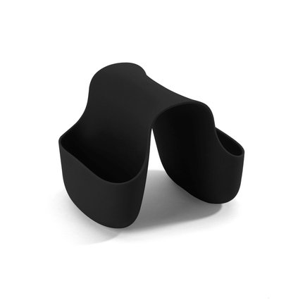 Органайзер для раковины Saddle, 14х11х11.5 см, черный 330210-040 Umbra