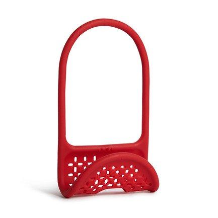 Органайзер для раковины Sling, 12х20х5 см, красный