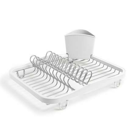 Сушилка для посуды Sinkin, 35.1х14.2х28 см, белая 330065-670 Umbra umbra сушилка для посуды sinkin dish 35х26х9 см мятный