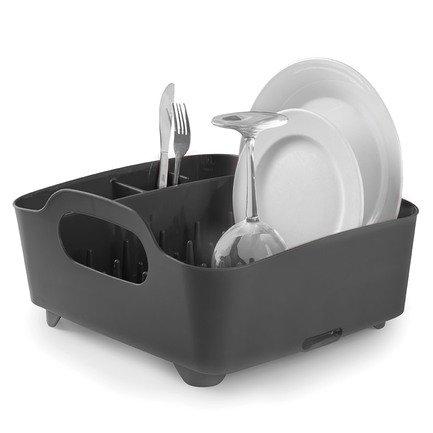 Сушилка для посуды Tub, 36.8х18.2х32 см, черная 330590-582 Umbra