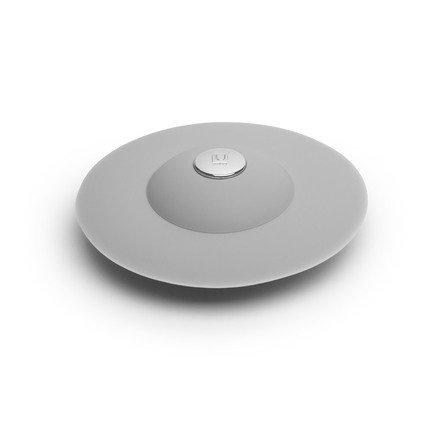Фильтр для слива Flex, 10.2х2.5х10.2 см, серый