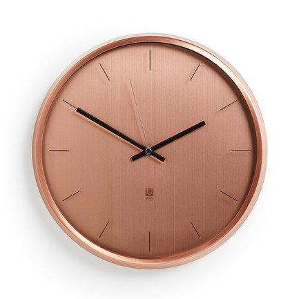 Часы настенные Meta,31.8х31.8х4.5 см, медь 1004385-880 Umbra нож для чистки овощей tefal ingenio k2071814