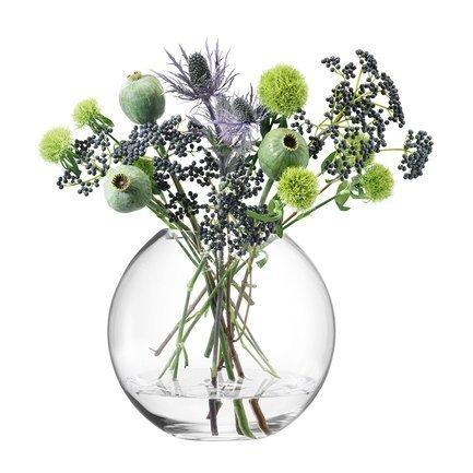 Ваза круглая Globe, 24 см G1161-24-301 LSA International ваза керамическая 14 х 10 х 38 см