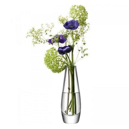 Ваза округлая высокая Flower, 17 см G612-17-301 LSA International подсвечник декоративный magic home трон цвет синий 6 5 х 6 х 10 см