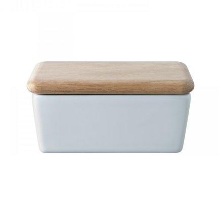 Масленка с крышкой Dine, 14х6.5х9 см