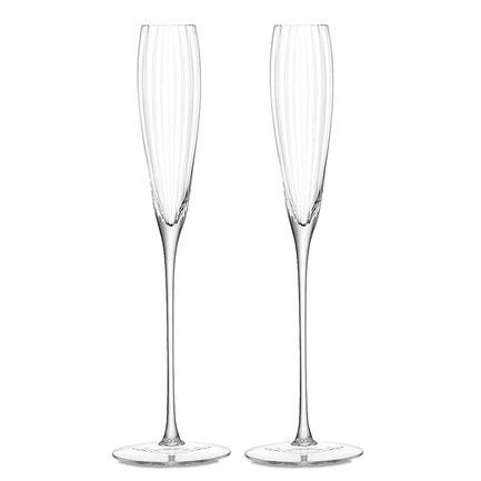Набор бокалов-флейт для шампанского Aurelia (165 мл), 2 шт. G874-06-776 LSA International