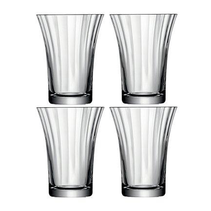Набор стаканов Aurelia (340 мл), 4 шт. G001-10-776 LSA International блок для записей silwerhof эконом цвет мультиколор 9 х 9 х 4 5 см 701013