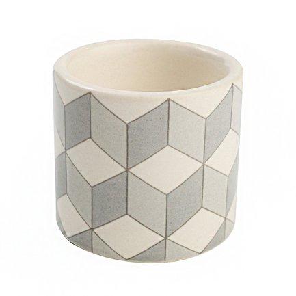 Подставка для яйца City Cube, 5.6x5.2 см, серая
