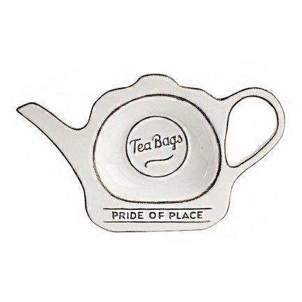Фото - Подставка для чайных пакетиков Pride of Place Cool White, 16.5x9.8x2 см, белая 18080 T&G подставка для чайных пакетиков