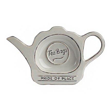 Фото - Подставка для чайных пакетиков Pride of Place Cool Grey, 16.5x9.8x2 см, серая 18096 T&G подставка для чайных пакетиков