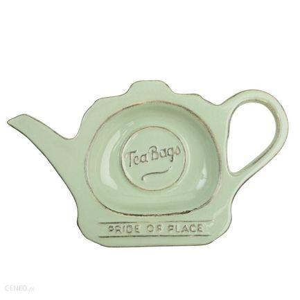 Фото - Подставка для чайных пакетиков Pride of Place Old Green, 16.5x9.8x2 см, зеленая 18009 T&G подставка для чайных пакетиков