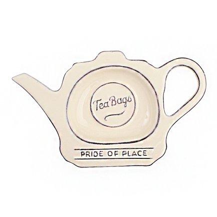 Фото - Подставка для чайных пакетиков Pride of Place Old Cream, 16.5x9.8x2 см, бежевая 18029 T&G подставка для чайных пакетиков