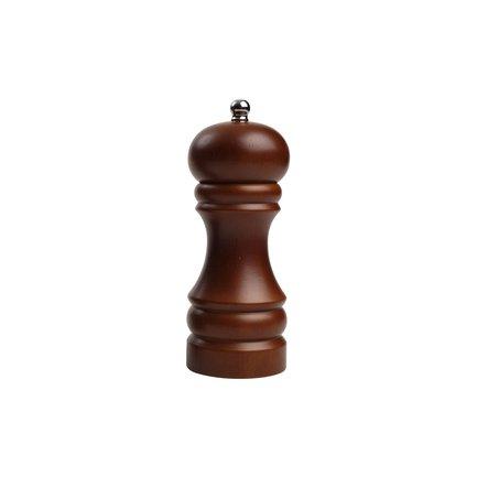 Мельница для соли Capstan Natural Hevea Dark, 15 см, коричневая 12304 T&G