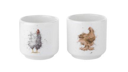 Набор подставок для яиц Забавная фауна, 5 см, 2 шт RWC WN3918-XD Royal Worcester