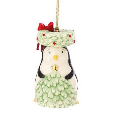 Фото - Украшение новогоднее Рождество, друзья. Пингвин, 9 см LEN838331 Lenox сувенир пингвин 9 5х9х17см star craft