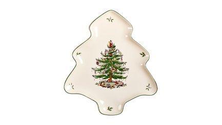 Блюдо-ель Рождественская ель, 35 см