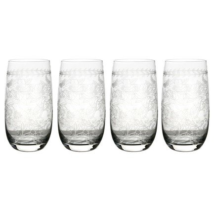 Набор для воды Ботанический сад (490 мл), 4 шт. PRT-BGXV76548-X Portmeirion набор стаканов для воды 6 шт crystalite bohemia набор стаканов для воды 6 шт