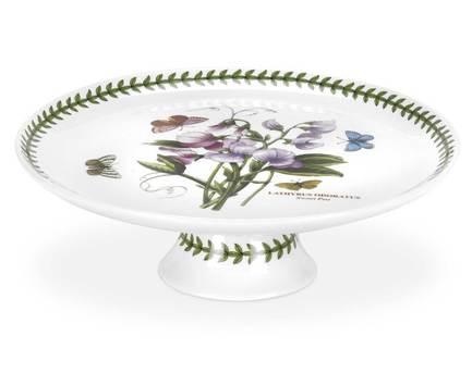 Блюдо на ножке Ботанический сад, 25 см PRT-BG75529-X Portmeirion блюдо для рулета weimar роза 36 см на ножке