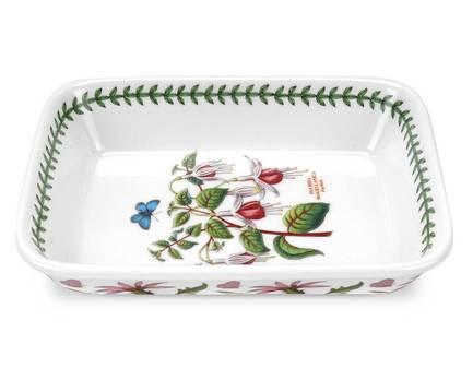 Блюдо прямоугольное для лазаньи Фуксия, 23х18 см PRT-BGIE22200-X Portmeirion блюдо прямоугольное royal porcelain 8 марта женщинам