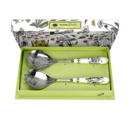 Набор сервировочных предметов для салата Ботанический сад, 25 см, 2 пр. PRT-BG1107 Portmeirion