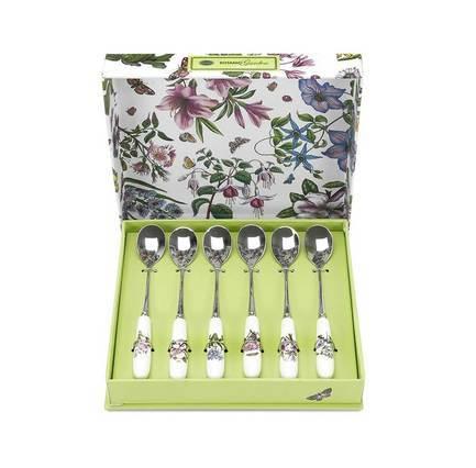 Набор ложек чайных Ботанический сад, 15 см, 6 шт. PRT-BG1101 Portmeirion guzzini набор чайных ложек love key 6 шт в подарочной упаковке 26840763 guzzini