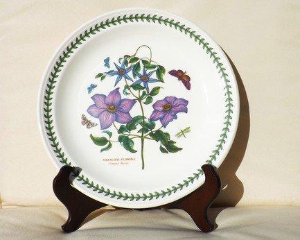 Тарелка обеденная Клематис, 25 см PRT-BG05052-2 Portmeirion тарелка обеденная душистый горошек 25 см prt bg05052 26 portmeirion