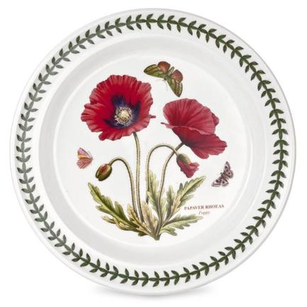 Тарелка обеденная Мак, 25 см PRT-BGPO05052-39 Portmeirion тарелка обеденная душистый горошек 25 см prt bg05052 26 portmeirion