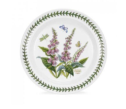 Тарелка обеденная Наперстянка, 25 см PRT-BG05052-34 Portmeirion тарелка обеденная душистый горошек 25 см prt bg05052 26 portmeirion