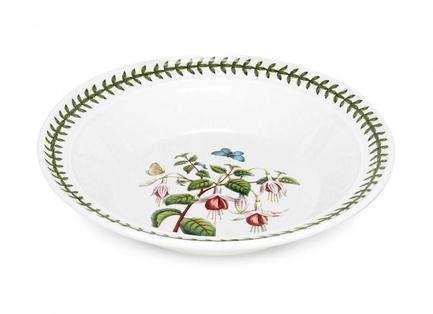 Тарелка суповая Фуксия, 20 см PRT-BG05252-19 Portmeirion россия 20 25 35 тарелка палех 20 см