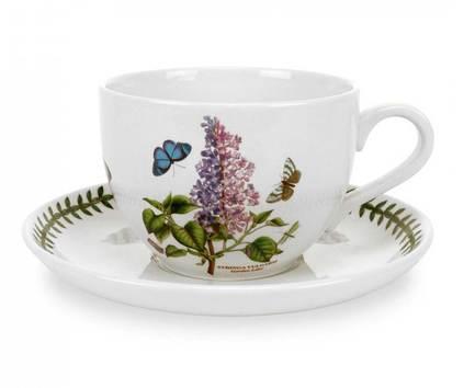 Чашка для завтрака с блюдцем Сирень (500 мл) PRT-BG42000-23 Portmeirion