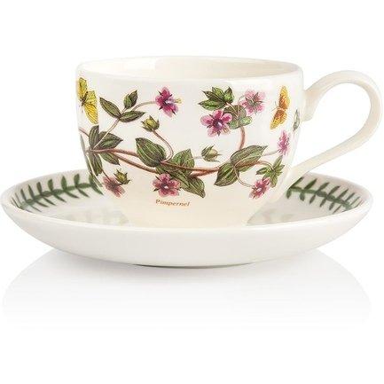 Чашка чайная с блюдцем Анагаллис (200 мл) PRT-BG04107-14 Portmeirion