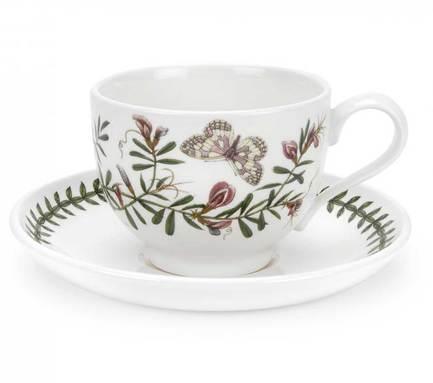 Чашка чайная с блюдцем Горошек (200 мл) PRT-BG04507-28 Portmeirion
