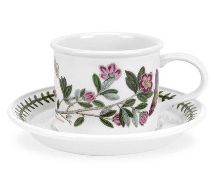 Чашка чайная с блюдцем Рододендрон (200 мл) PRT-BG04102-16D Portmeirion