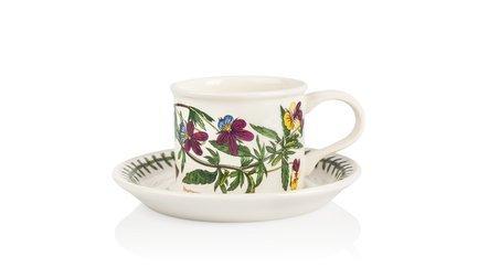 Чашка чайная с блюдцем Фиалка трехцветная (200 мл) PRT-BG04102-15D Portmeirion