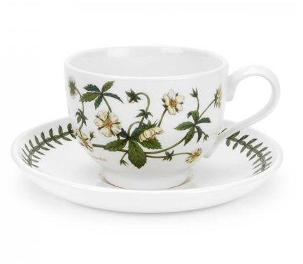 Чашка чайная с блюдцем Лапчатка (280 мл) PRT-BG04557-27 Portmeirion