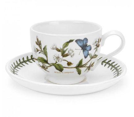 Чашка чайная с блюдцем Смолевка (280 мл) PRT-BG04557-32 Portmeirion