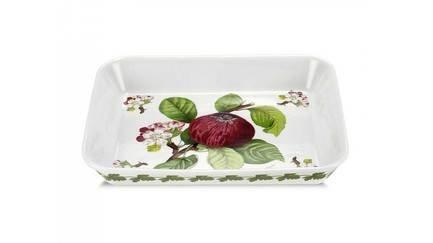 Блюдо для запекания прямоугольное Красное яблоко, 30 см PRT-PLHB22100-X Portmeirion блюдо для запекания agness 27 см цветы