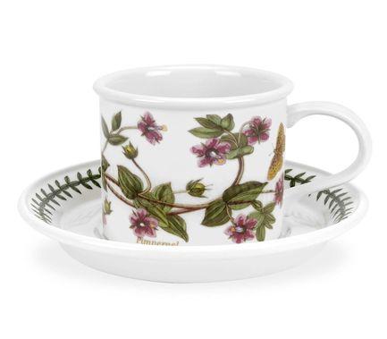 Чашка для завтрака с блюдцем Абрикос (270 мл) PRT-PL04155-C Portmeirion